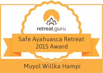 Safe Ayahuasca Retreat 2015 Award - Center of Mystic Arts & Sciences