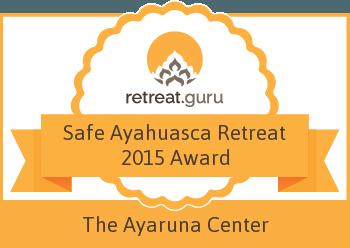 Safe Ayahuasca Retreat 2015 Award - The Ayaruna Center