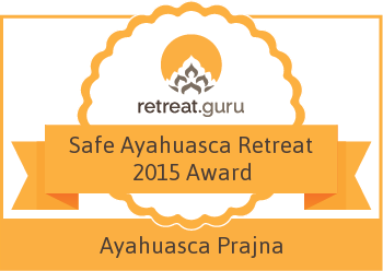 Ayahuasca Prajna Retreats award