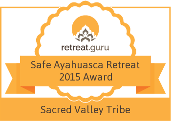 Safe Ayahuasca Retreat 2015 Award - Sacred Valley Tribe