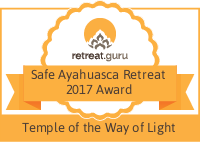 Safe Ayahuasca Retreat 2017 Award