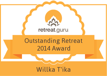 Outstanding Retreat 2014 Award - Willka T'ika