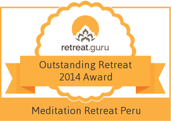 Outstanding Retreat 2014 Award - Meditation Retreat Peru