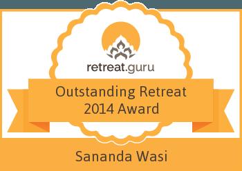 Outstanding Retreat 2014 Award - Sananda - Wasi