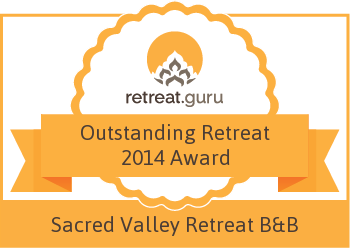 Outstanding Retreat 2014 Award - Sacred Valley Retreat and B&B