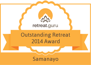 Outstanding Retreat 2014 Award - Samanayo