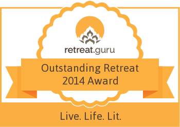 Outstanding Retreat 2014 Award - Live. Life. Lit.