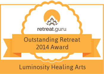 Outstanding Retreat 2014 Award - Luminosity Healing Arts