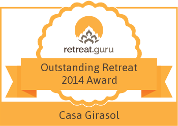 Outstanding Retreat 2014 Award - Casa Girasol Retreat Center
