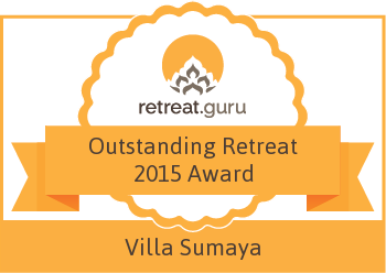 Outstanding Retreat 2015 Award - Villa Sumaya