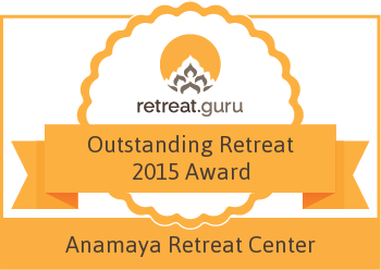 Outstanding Retreat 2015 Award - Anamaya Resort and Retreat Center