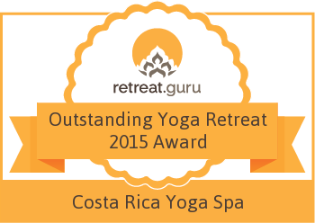 Outstanding Yoga Retreat 2015 Award - Costa Rica Yoga Spa