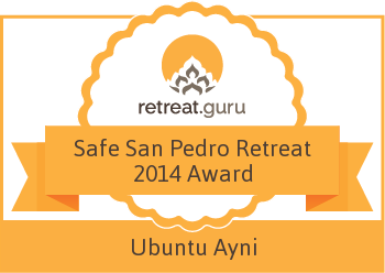 Safe San Pedro Retreat 2014 Award - Ubuntu Ayni